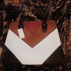 Handbags - Genuine leather printed bag